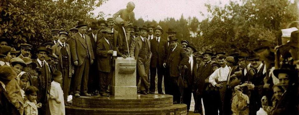 Inauguração do chafariz do GAROTO - 1915