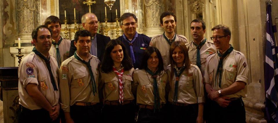 A JRC com o Bispo de Coimbra